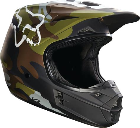 motocross helmet closeout fox racing v1 camo dot mx motocross riding helmet closeout