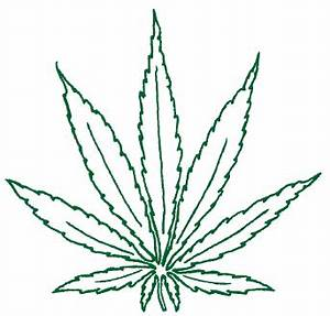 pot leaf tattoo outline designs leaf art pinterest With weed leaf template