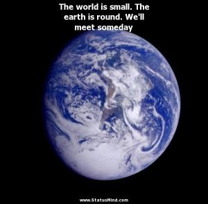 small world quotes quotesgram