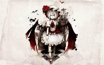 Touhou Remilia Lolicon Anime Scarlet Games Vampires