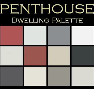 contemporary color color in space penthouse palette polished bold