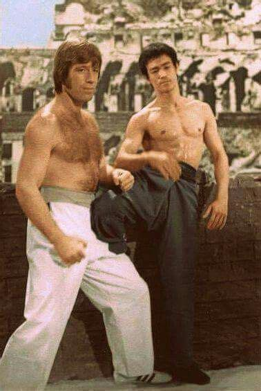 Chuck Norris VS Bruce Lee in Way Of The Dragon ( Aka