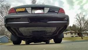 2008 Ford Crown Victoria P71 Exhaust Rev
