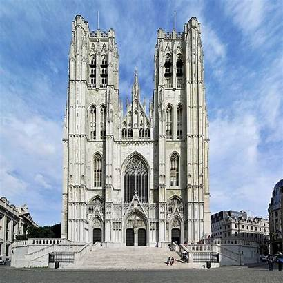 Cathedral Michael Gudula Brussels Worship Reference Houses