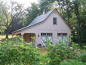 barn style garage With barn looking garage