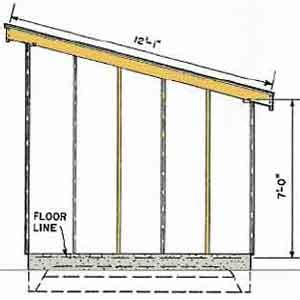 photos of free shed plans 10 x 10