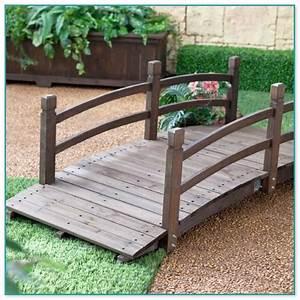 wood how to build a wooden garden bridge blueprints