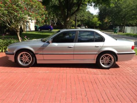 Bmw Enthusiast by Buy Used Bmw Enthusiast Selling 01 740i Sport In Miami