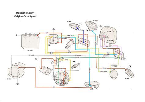 kabelbaum sprint d mit batterie blinker z 252 ndschloss am lenker vespa rally sprint vna
