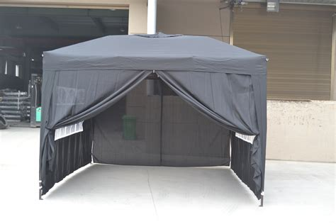 ez pop   walls canopy party tent gazebo   canopy tent  sides active writing