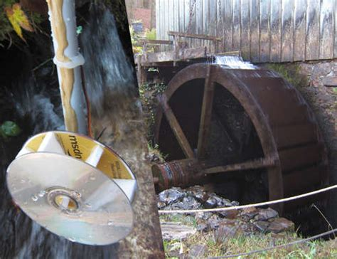Build A Micro-hydropower Generator From Cds And Repurposed