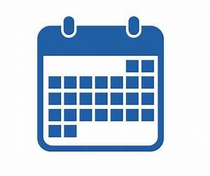 Calendar clipart blue - Pencil and in color calendar ...