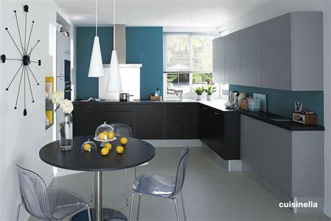 cuisine grise quelle couleur au mur stunning cuisine blanche mur gris bleu pictures