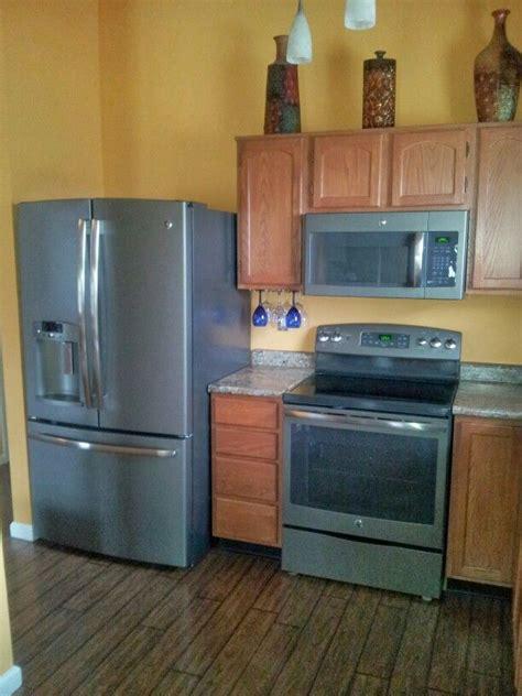kitchen  ge slate appliances slate appliances