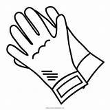 Guantes Colorear Gloves Coloring Colorir Desenho Dibujo Guanti Colorare Luvas Disegni Seguridad Dibujos Dibujar Imprimir Stampare Pngfind Ultracoloringpages sketch template