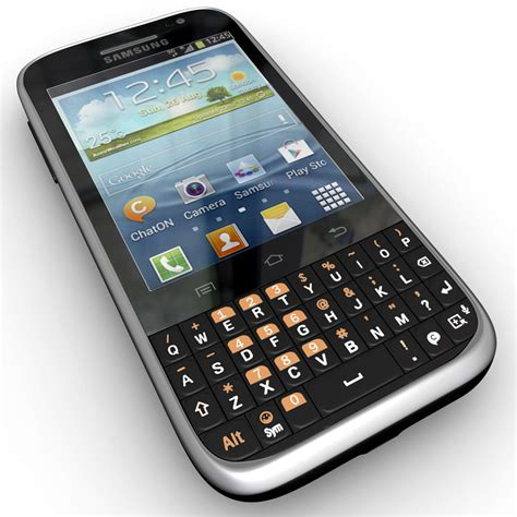 samsung galaxy chat b5330 3d