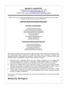 vendor management project manager resume sle cover letter september 2015