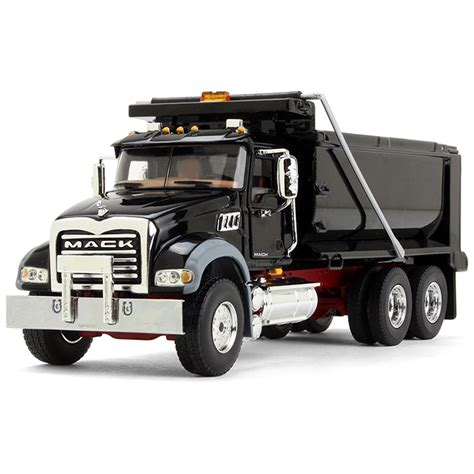 Dump Truck by Www Scalemodels De Mack Granite Dump Truck Black