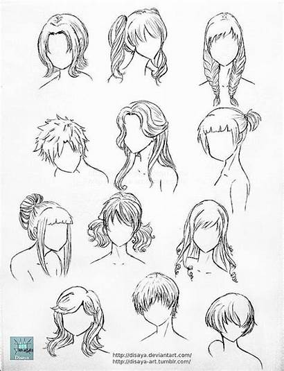 Hairstyles Anime Drawing Boy Draw Drawings Paintingvalley