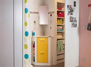 petite salle de bains les meubles qu39il vous faut With meuble de salle de bain darty