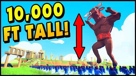 tabs mods  ft tall mega god minotaur totally