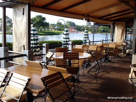 Patio World by Best Places To Eat Outside At Disney World And Disneyland