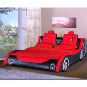 Adult race car bed, yes!