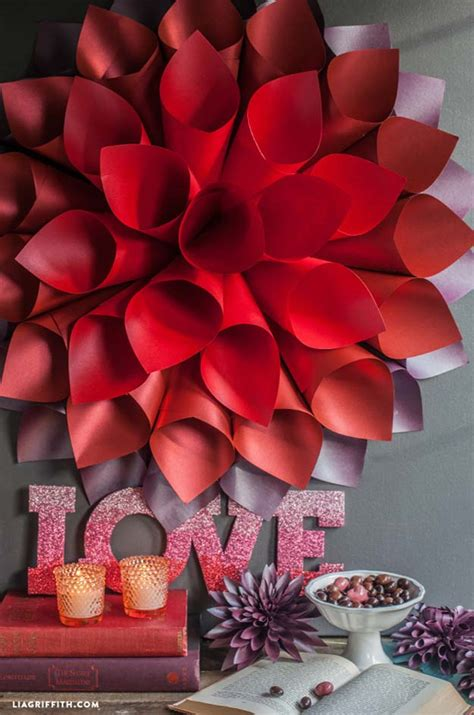 brilliant red diy room decor ideas