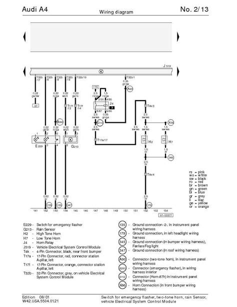 wiring diagram for audi a4 b5 audi a4 b5 wiring diagram owner guide manual