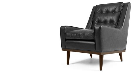 About Black Leather Armchairs