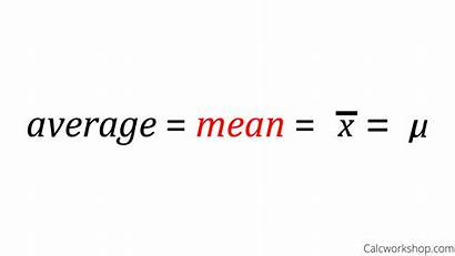Mean Notation Sample Population Surefire Examples