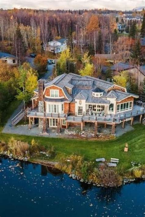 1965 Waterfront Mansion For Sale In Anchorage Alaska ...