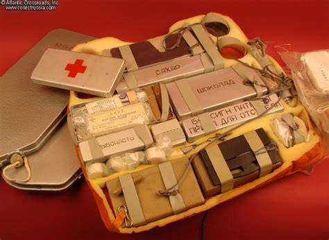 Collect Russia NAZ-7 Mig Survival Kit, dated 1991. Soviet ...