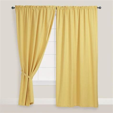 Yellow And White Curtains by Yellow Curtains Products Bookmarks Design Inspiration
