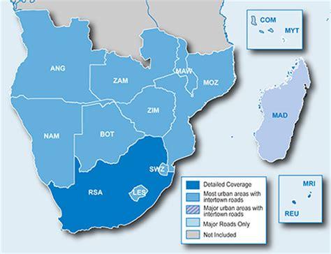 Garmin Karte Südafrika
