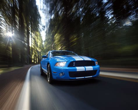Ford Mustang, Shelby Gt500, Convertible  Free 1280x1024