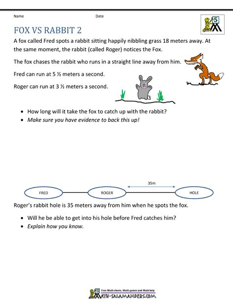 Math Problems For 5th Grade  Math Worksheets For Fifth Grade Adding Decimals2nd Word Problems