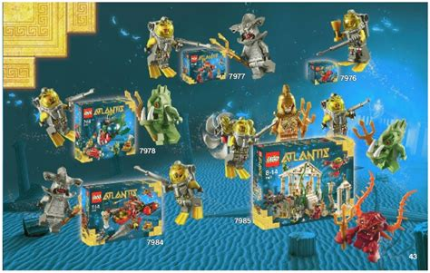 Lego Angler Attack Instructions 7978, Atlantis