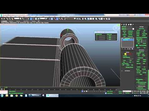 modeling  door hinges handle ds max time lapse youtube
