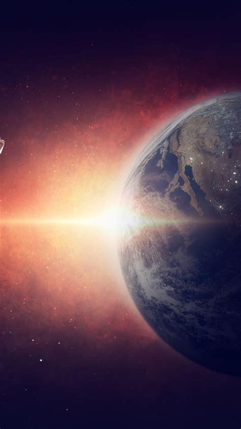 Wallpaper Earth, Planet, Space, Galaxy, Astronaut, 5k