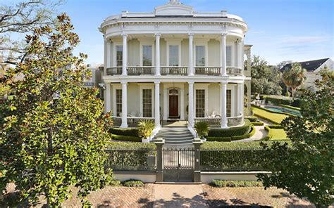 7 9 million historic mansion in new orleans la homes