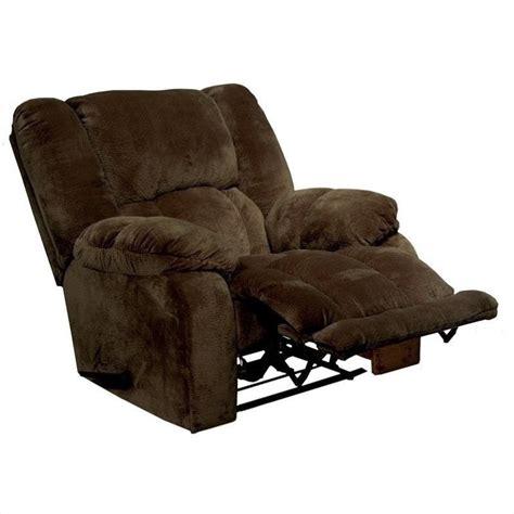 wall hugger recliners catnapper hogan inch away wall hugger recliner chair in chocolate 45424233409