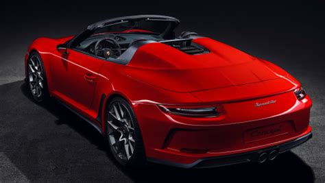 Porsche 911 Speedster Ii Concept