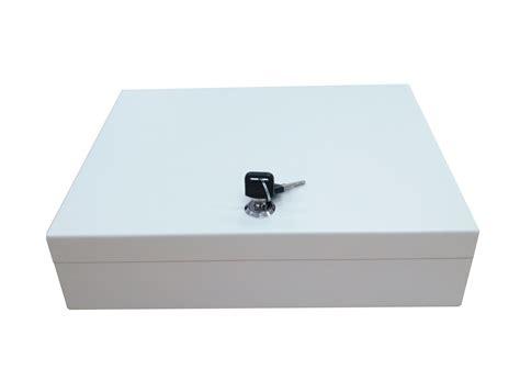 Secure Steel Key Storage Cabinet 93 Keys Gray Box Garage