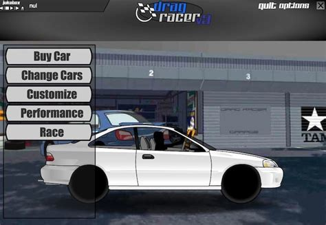 Drag Racer V3 Racing Game