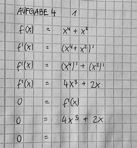 Nullstelle Berechnen Quadratische Funktion : monotonie monotonieverhalten von funktionen mit ableitung und nullstelle berechnen mathelounge ~ Themetempest.com Abrechnung