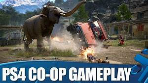 Far Cry 4 Co-op Gameplay - Open World Co-op on PS4 - ViYoutube