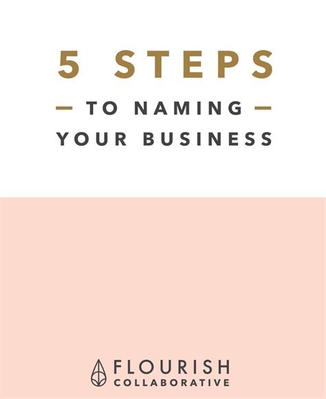 1000 ideas about business names on for naming your creative business flourish collaborative