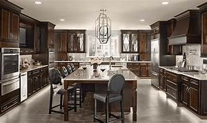 10 inspiring gray kitchen design ideas With kitchen cabinets lowes with grey canvas wall art