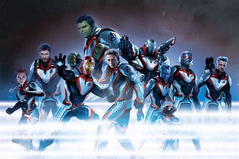 Avengers Endgame Promo Art Sees The New Look Team